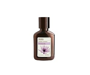 Ahava Sametový sprchový krém s lotosem a kaštanem 85 ml